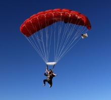 Skydiving and Parachuting